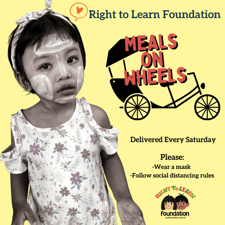 Thai Charity Meals on Wheels